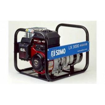 Бензиновый генератор SDMO LX 3000 ( 3квт 16А 1 фаза)   - 500 руб./сутки. Залог 15000 руб