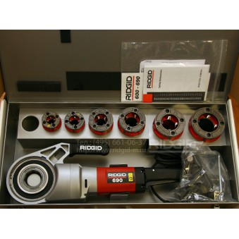 Резьбонарезной Электрический клупп Ridgid 690 от  1/2 до 2' -492 руб./сутки. Залог 20000