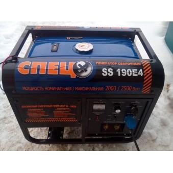 Сварочный генератор СПЕЦ SS-190Е4  -600 руб./сутки. Залог 15000 руб