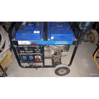 Генератор электрический 11 квт тсс SGG 10000EH3  д - 1200руб сутки/65000 залог