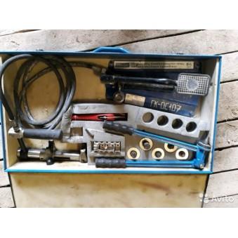 Пресс гидравлический KAN-therm с ножным приводом - 600руб сутки/35000 залог