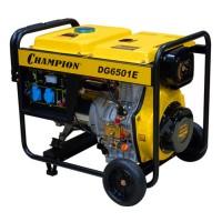 Генератор дизельный  Champion DG6501E-5,5 квт - 650руб сутки/25000 залог